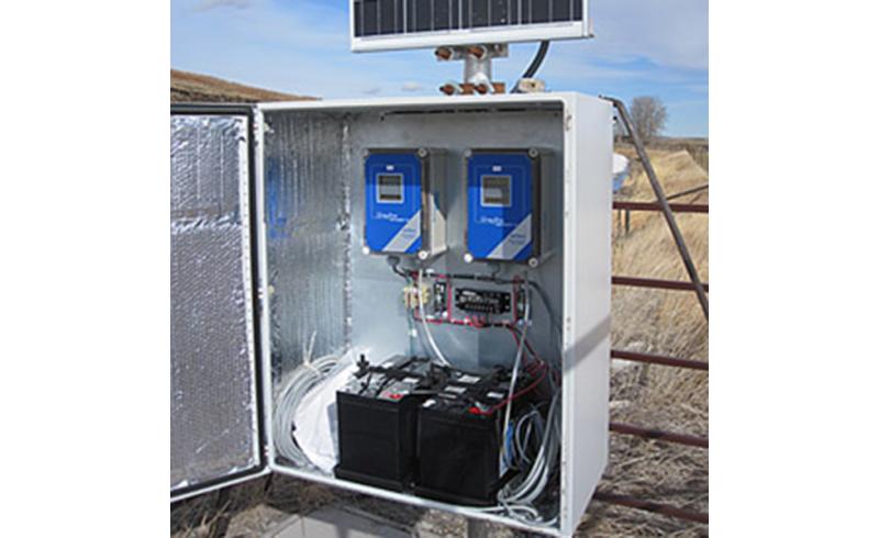 AVFM Solar Powered Electronics Installation