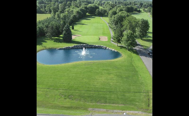Golf course irrigation
