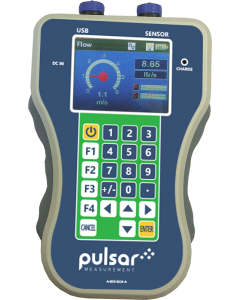 Pulsar Measurement FlowPulse HandHeld portable pipe flow monitoring controller
