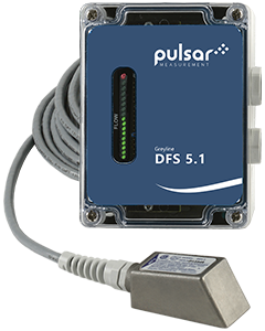 Greyline DFS 5.1 non-contacting Doppler flow switch