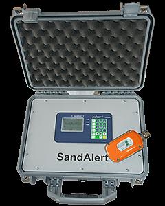 iSensys SandAlert portable with PulsarGuard 2001 Sensor from Pulsar Measurement