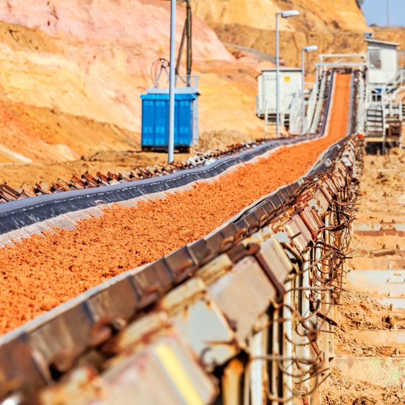Mining & Quarrying Stock image