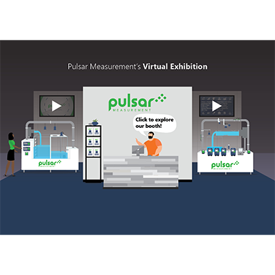 Pulsar Measurement Trade Show Booth